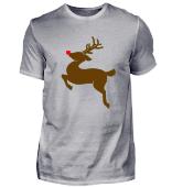 Weihnachten springender Rudolf