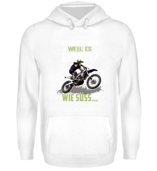 Motocross du fährst nicht bei Regen?
