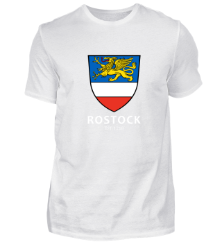 Rostock - EST. 1218 - T-Shirt