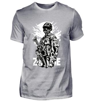 ☛ ZOMBIE SOLDIER #2