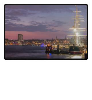 Port of Hamburg River