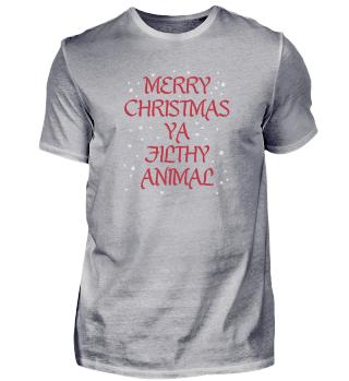 Merry Christmas Ya Filthy Animal Gift