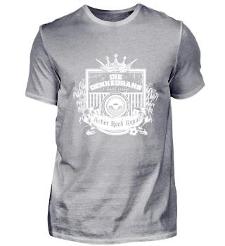 Die Denkedrans T-Shirt Cover/Logo, white print