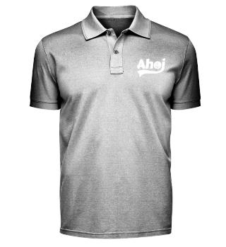 Ahoi mit Anker Herren Polo-Shirt