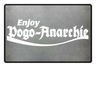 Fußmatte Enjoy Pogo-Anarchie