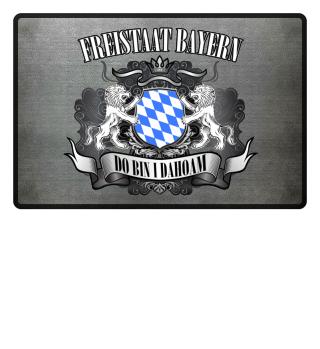FUßMATTE - FREISTAAT BAYERN