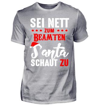 Sei nett zum Beamten - Weihnachten