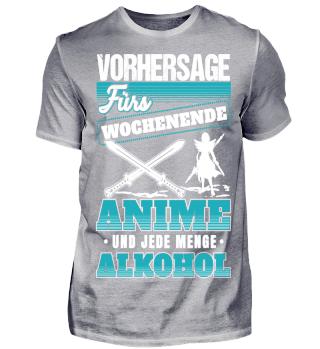 Vorhersage Anime und Alkohol