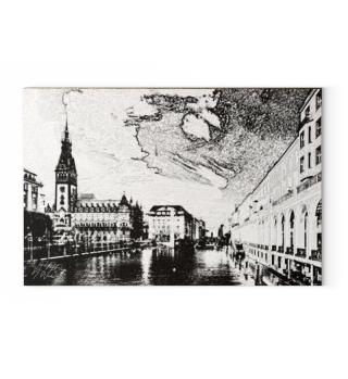 Canva: Hamburg Rathaus Großebleichen