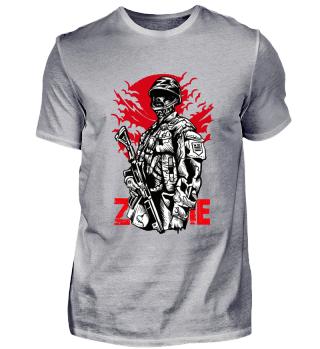 ☛ ZOMBIE SOLDIER #6