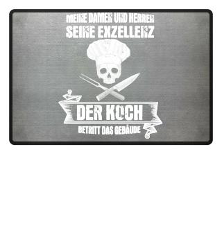 Koch-Shirt | SEINE EXZELLENZ DER KOCH (ideales Geschenk)