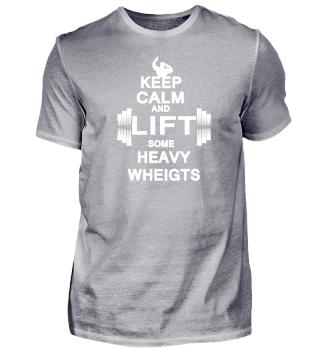 Keep Calm | Fitness Gym Shred Squats