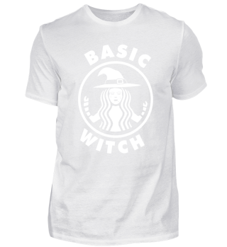 Funny Halloween Basic Witch T-Shirt