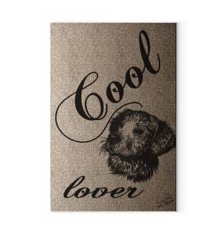 Canvas: Cool Dog Lover / Hundeliebhaber