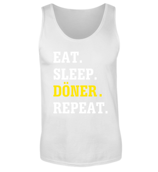 Eat Sleep Döner Repeat Tank-Top