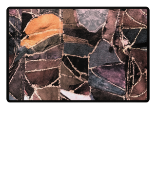 leather patchwork PRINT DESIGN
