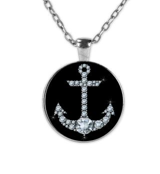 Kette Diamant Schwarz