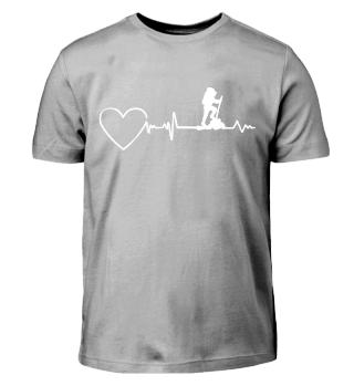 Berge - Wandern Heartbeat Herzschlag