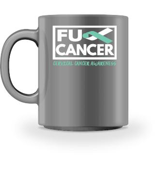 Fck Cancer Shirt cervical cancer