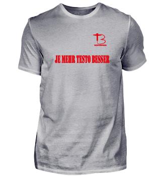 Testo Brother | Fitness bodybuilding