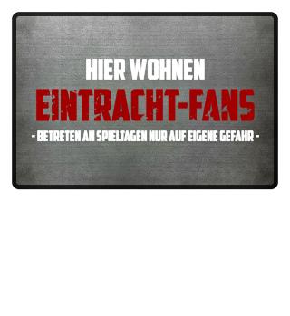 Hier wohnen Eintracht-Fans