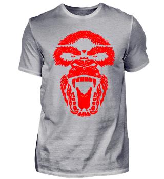 Gorilla Face Aggro red
