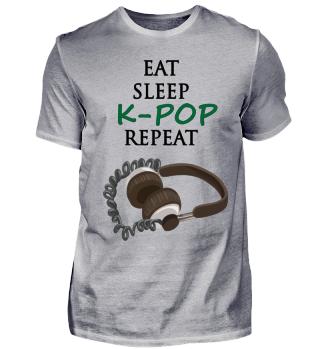 Eat Sleep K-POP Repeat