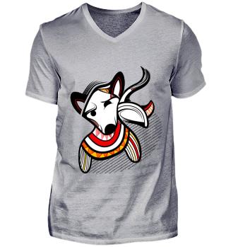 Bullterrier- T-shirts for men