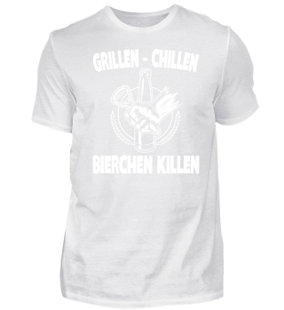 GRILLEN - CHILLEN - BIERCHEN KILLEN