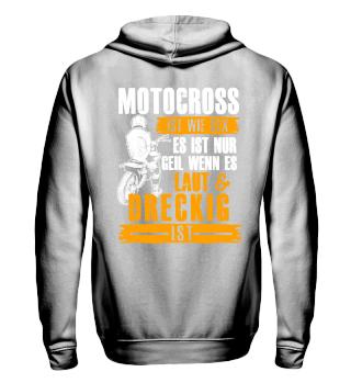 Motocross laut und dreckig