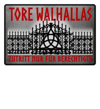 Wikinger Tore Walhallas - Fussmatte
