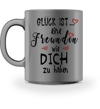 Tasse mit Spruch Freundin Geschenk