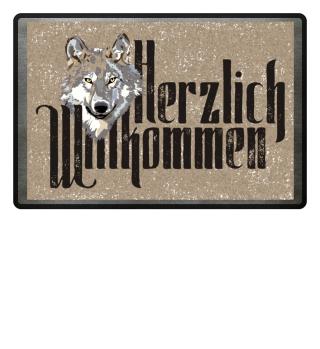 Herzlich Willkommen Wolf