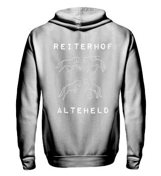 Alteheld hoodie helles logo