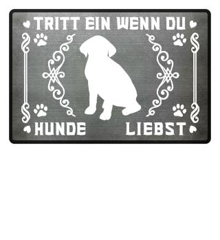 Tritt ein wenn du Hunde liebst