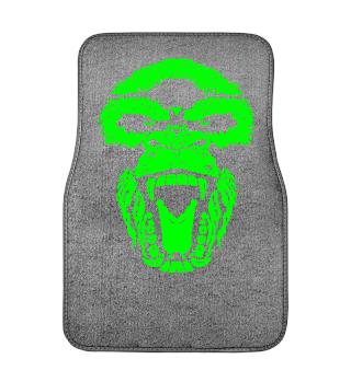 Automatten Gorilla Face Aggro green