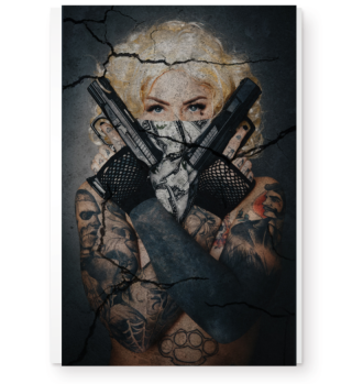 Marilyn M Babe with Guns High Res