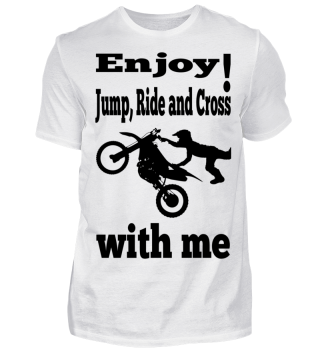 Enjoy! Jump Ride and Cross with me 2 B
