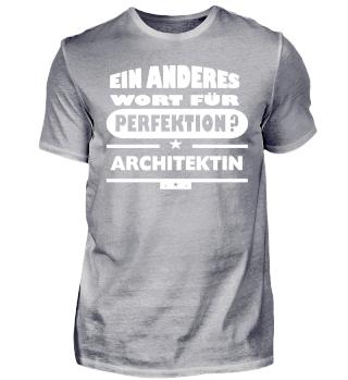 architektin wort für perfektion