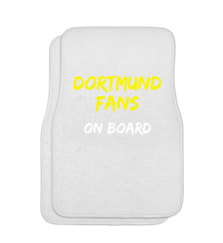 Dortmund Fans on Board