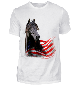 USA Morgan Horse Pferde T-Shirt