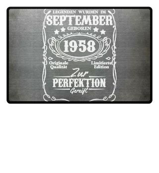 Legenden September Geburtstag 1958