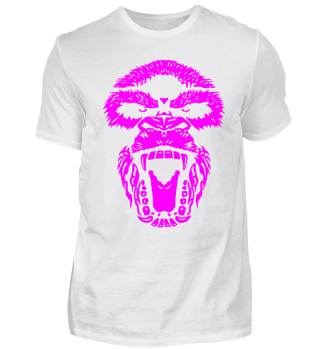 Gorilla Face Aggro magenta