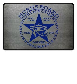 Mystical Pentagram Horus Board - blue 2