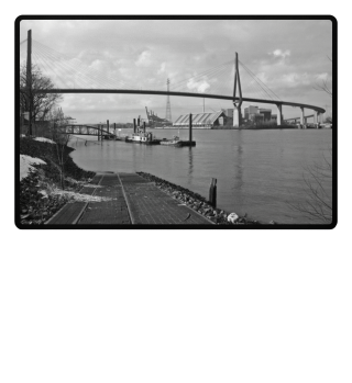 Port of Hamburg Koehlbrandbruecke