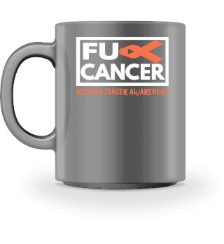 Fck Cancer Shirt kidney cancer