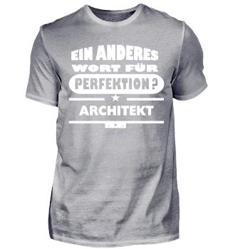 Architekt wort für perfektion
