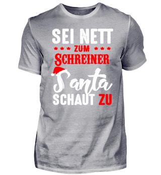 Sei nett zum Schreiner - Weihnachten