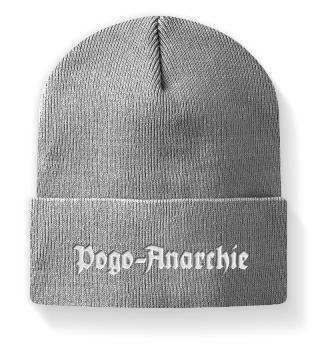 Stickerei Pogo-Anarchie Mütze