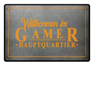 Fußmatte - Gamer Hauptquatier